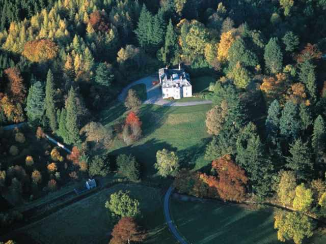 A country retreat tucked away in Pitlochry
