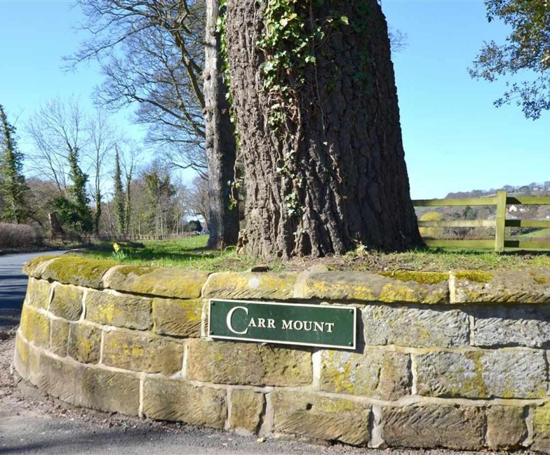 The Barn - Carr Mount Entrance