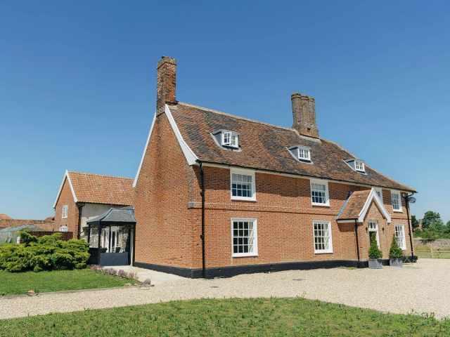 Luxurious Grade II listed farmhouse