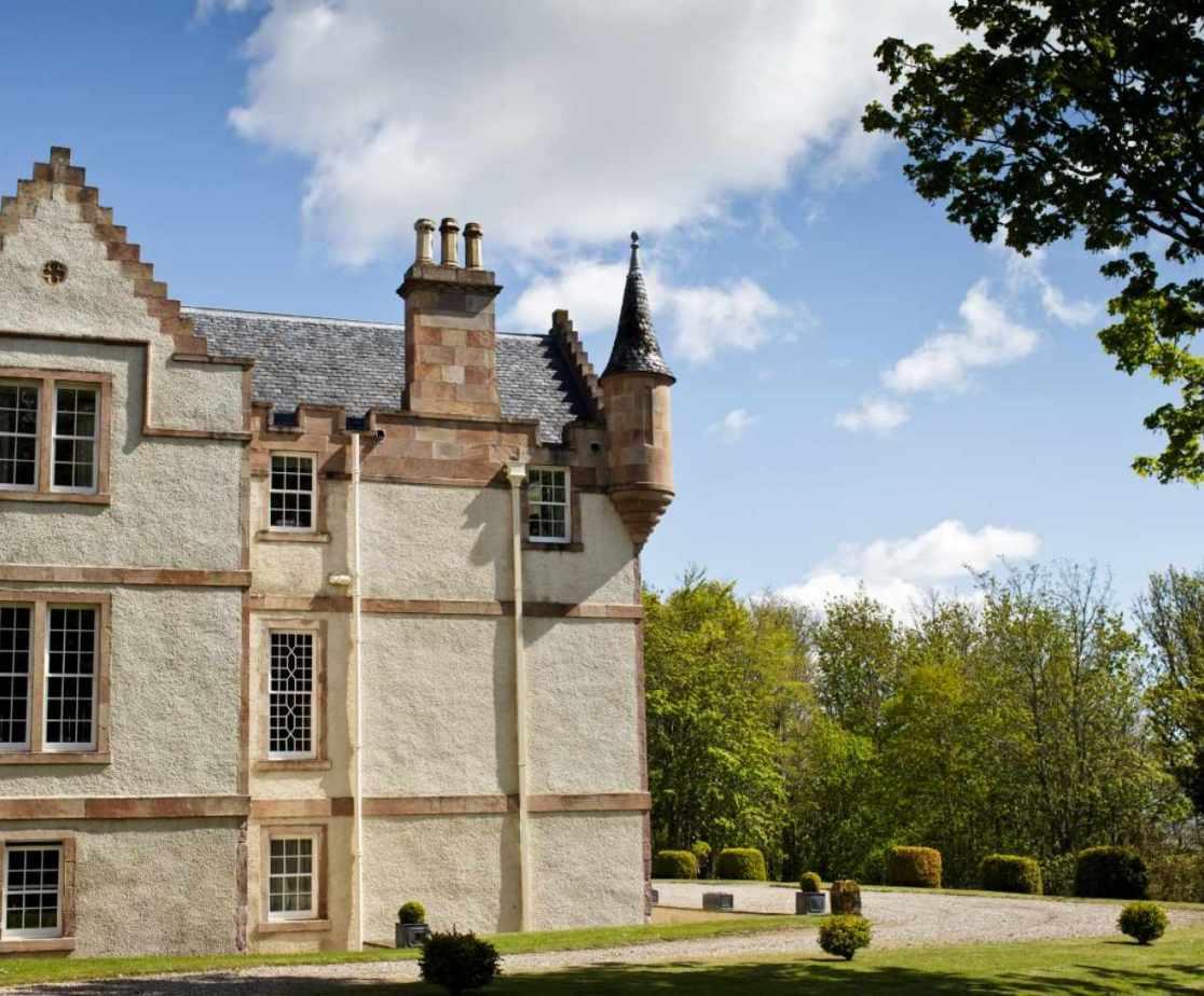 Castellated Luxury Mansion - exterior
