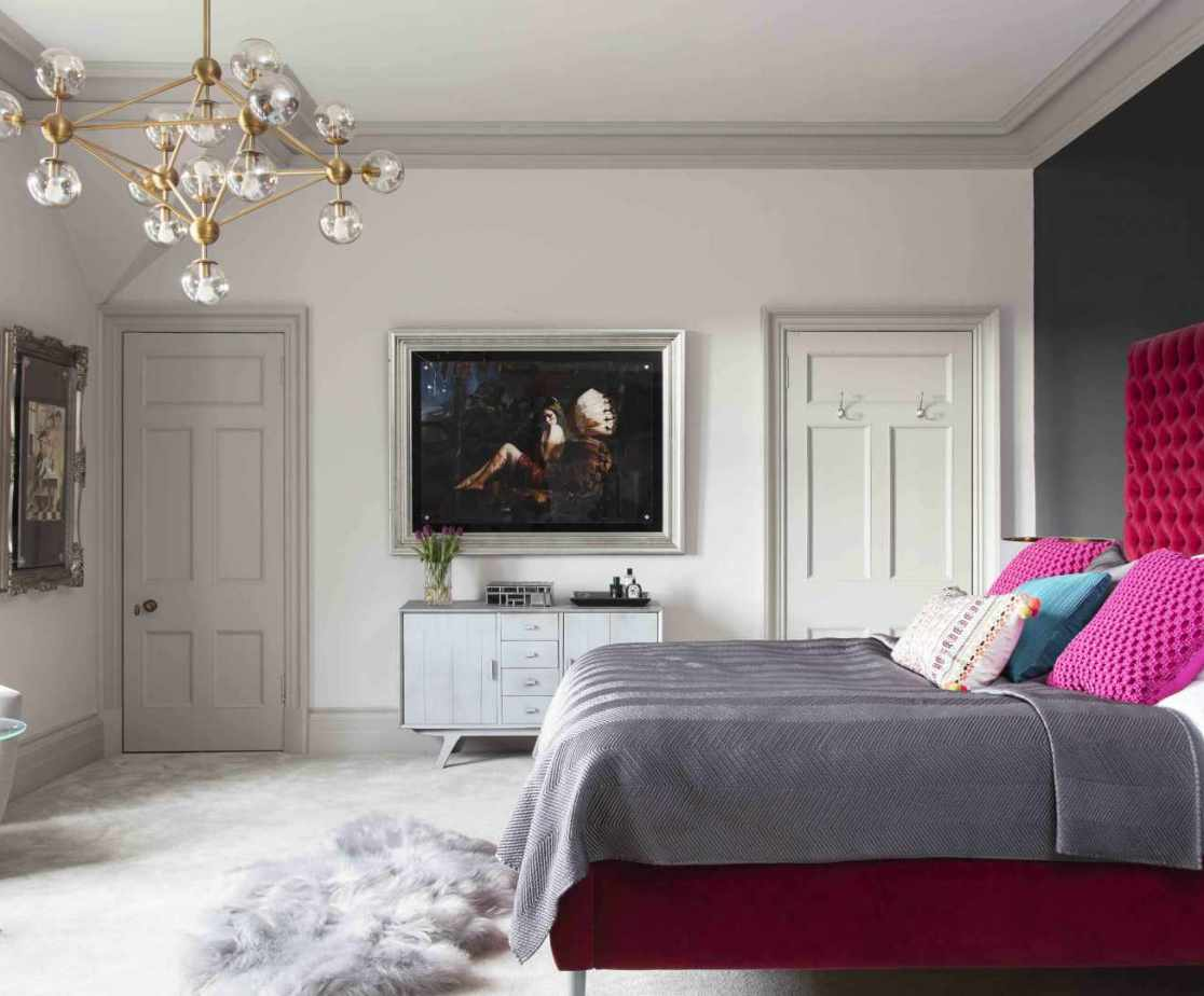 Bedroom 1 is a stylish double with en-suite
