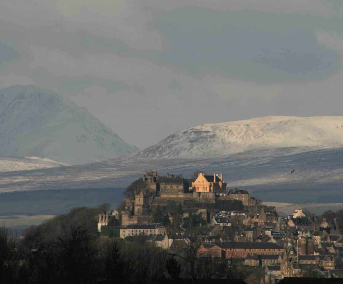 Stirling Castle is worth a visit