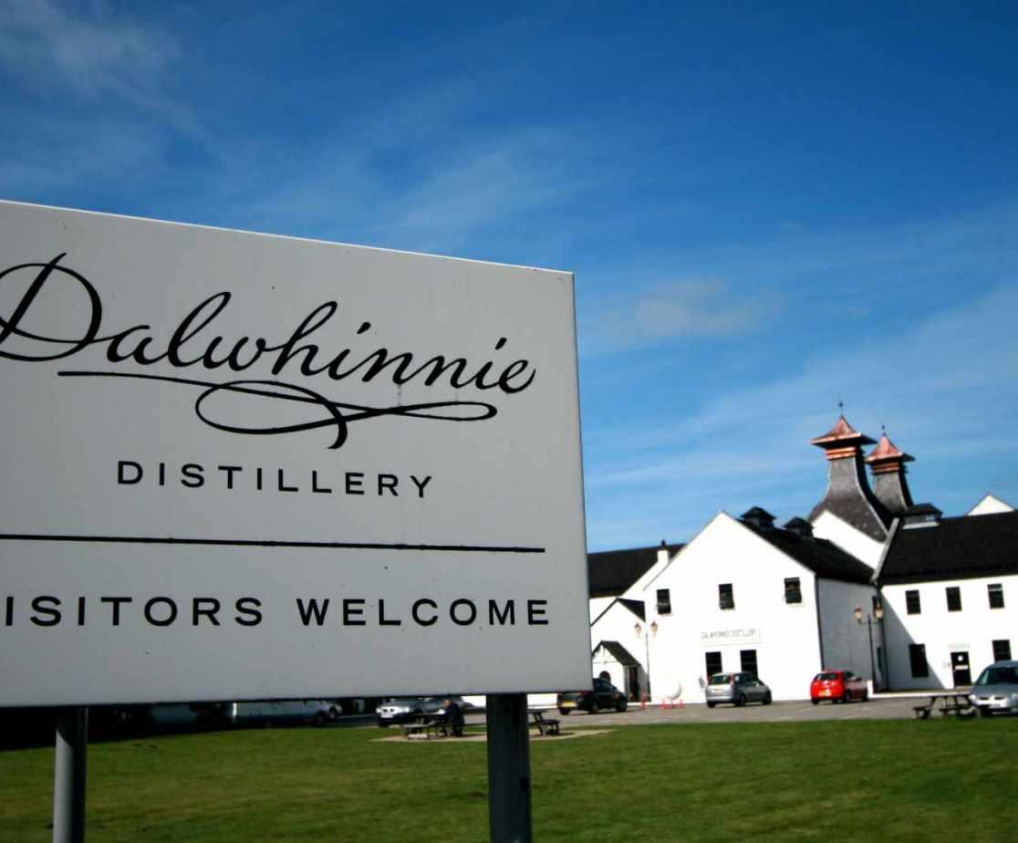 Dalwhinnie Distillery - fancy a tipple?