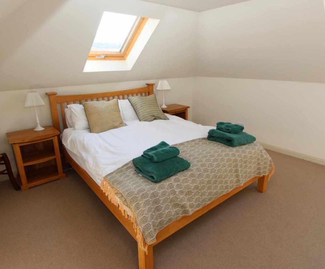 Room 3 is a first floor double room with en-suite bathroom