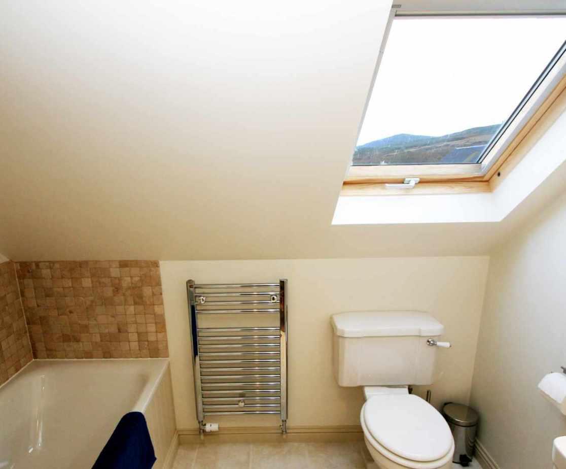 The en-suite bathroom for bedroom 3