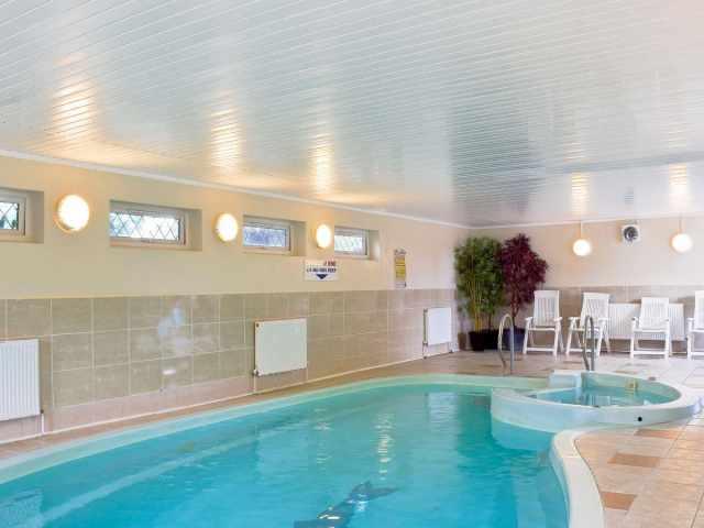 Exclusive indoor heated swimming pool