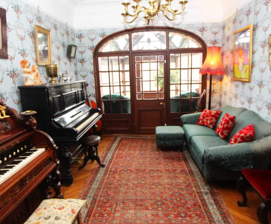 A music room is also available