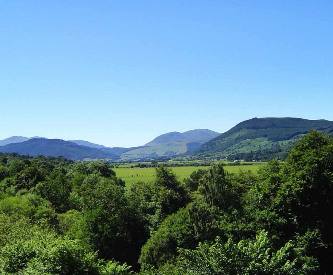 Gorgeous long views near Aberfeldy