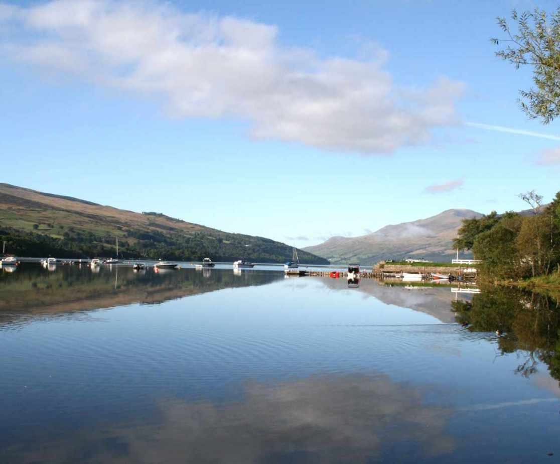 Loch Tay can be scenic in all weathers