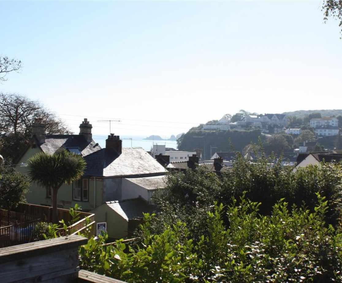 Views of saundersfoot bay and coastline