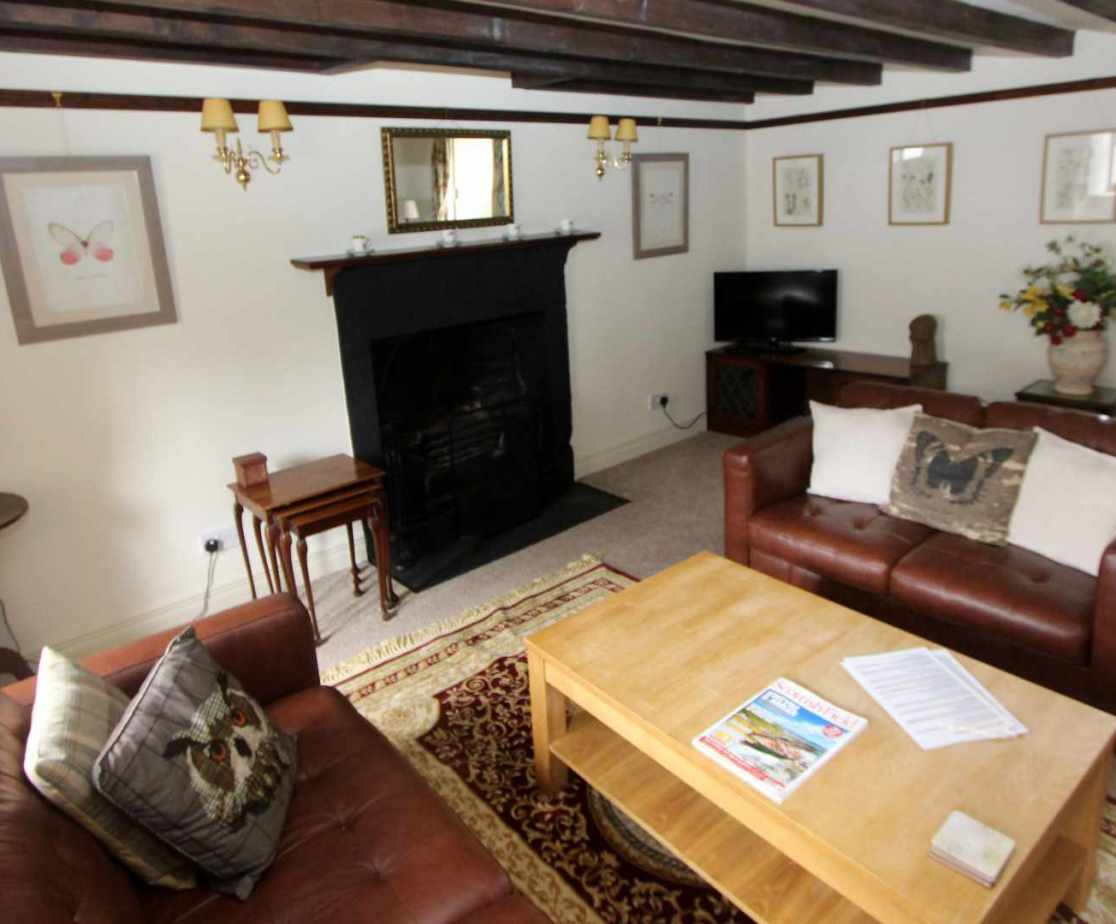 Stable Cottage open plan sitting room
