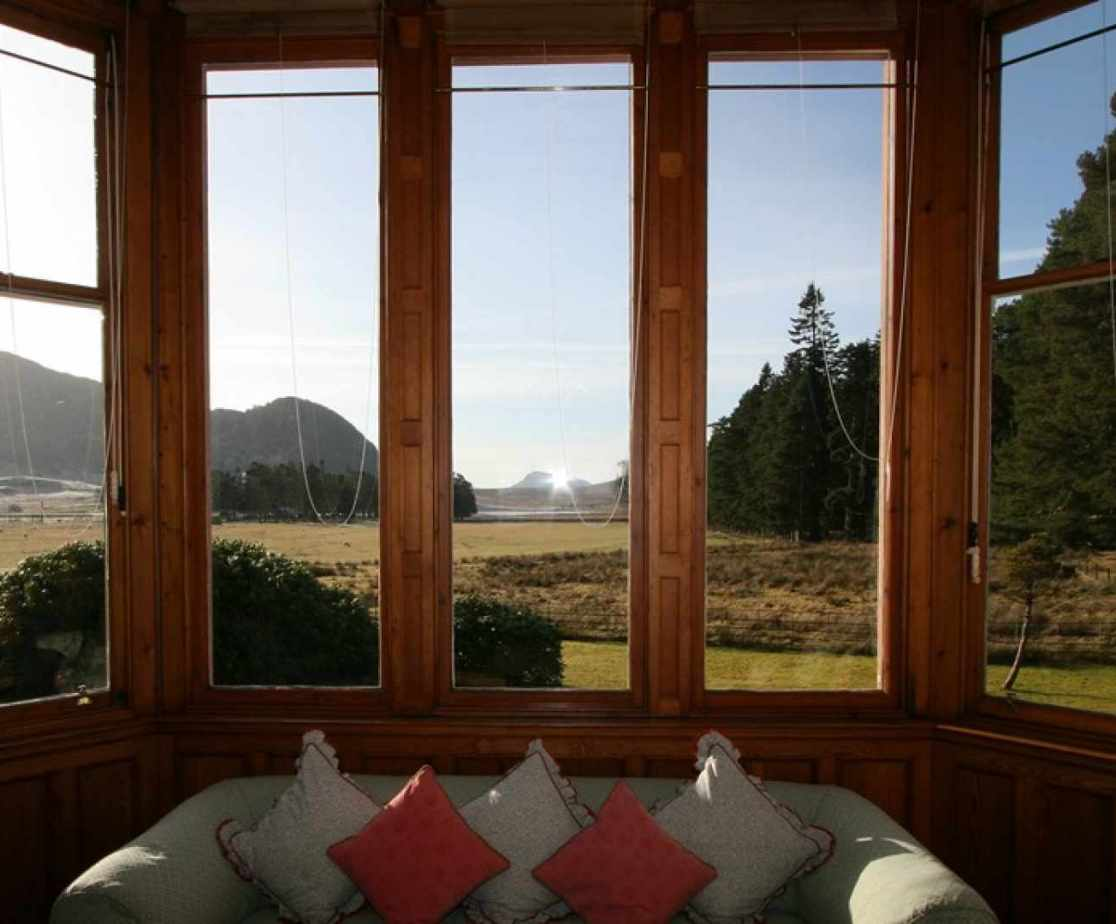 Enjoy the views from the drawing room