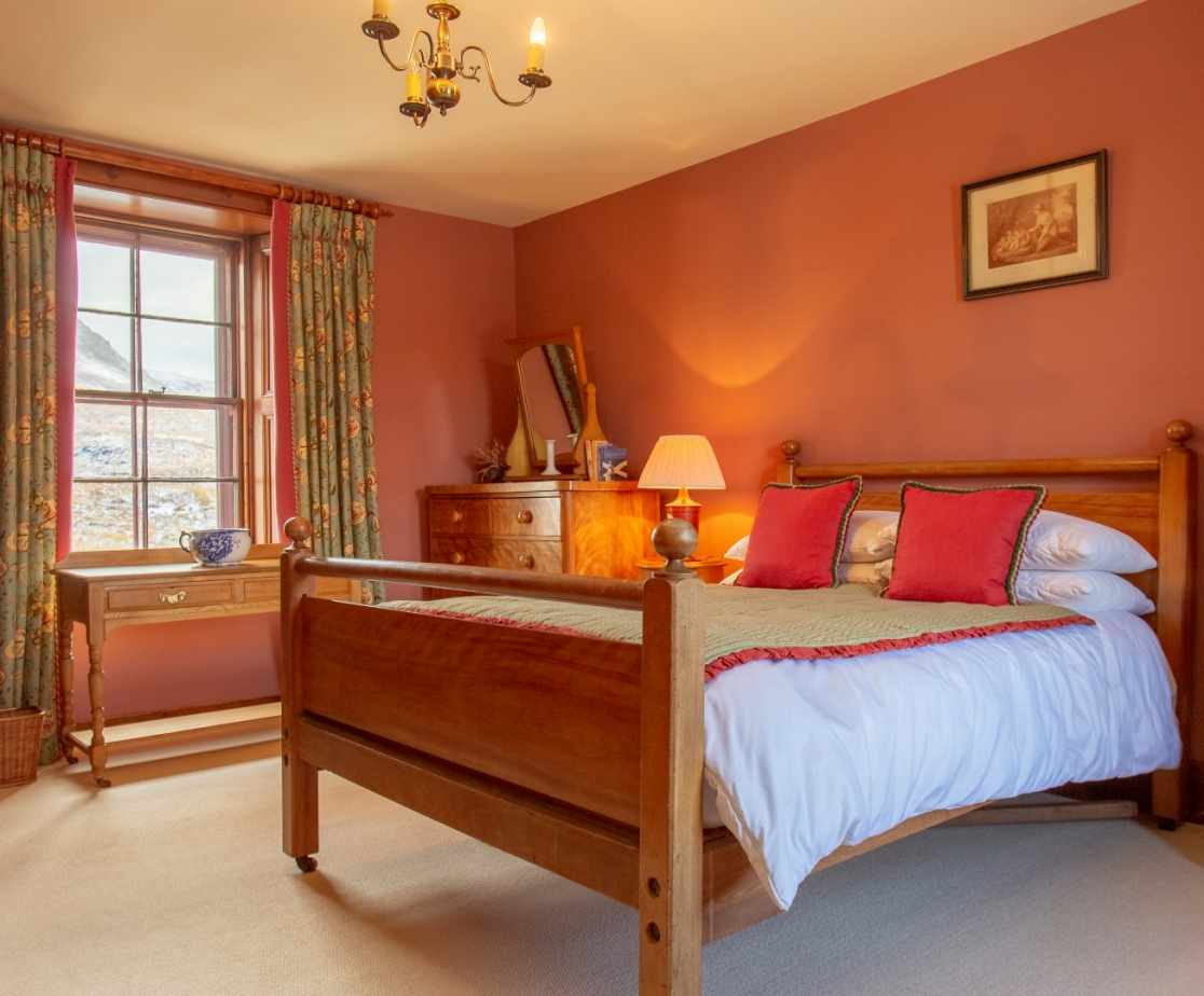 Double Room | Remote Highland Lodge by Loch Ericht