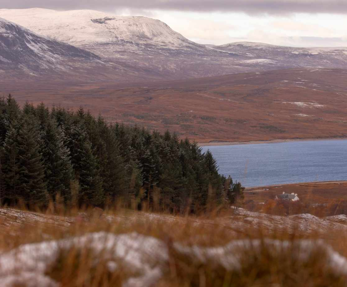Secluded and Wild | Remote Highland Lodge by Loch Ericht
