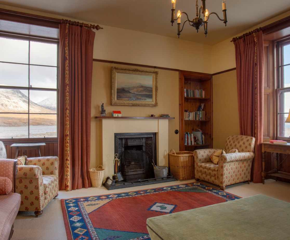 Well appointed comfortable and warm sitting room