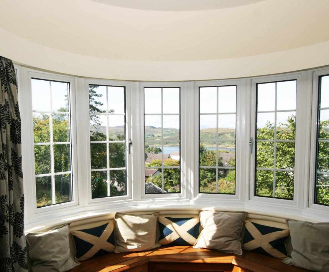 This room enjoys amazing views from the bay window
