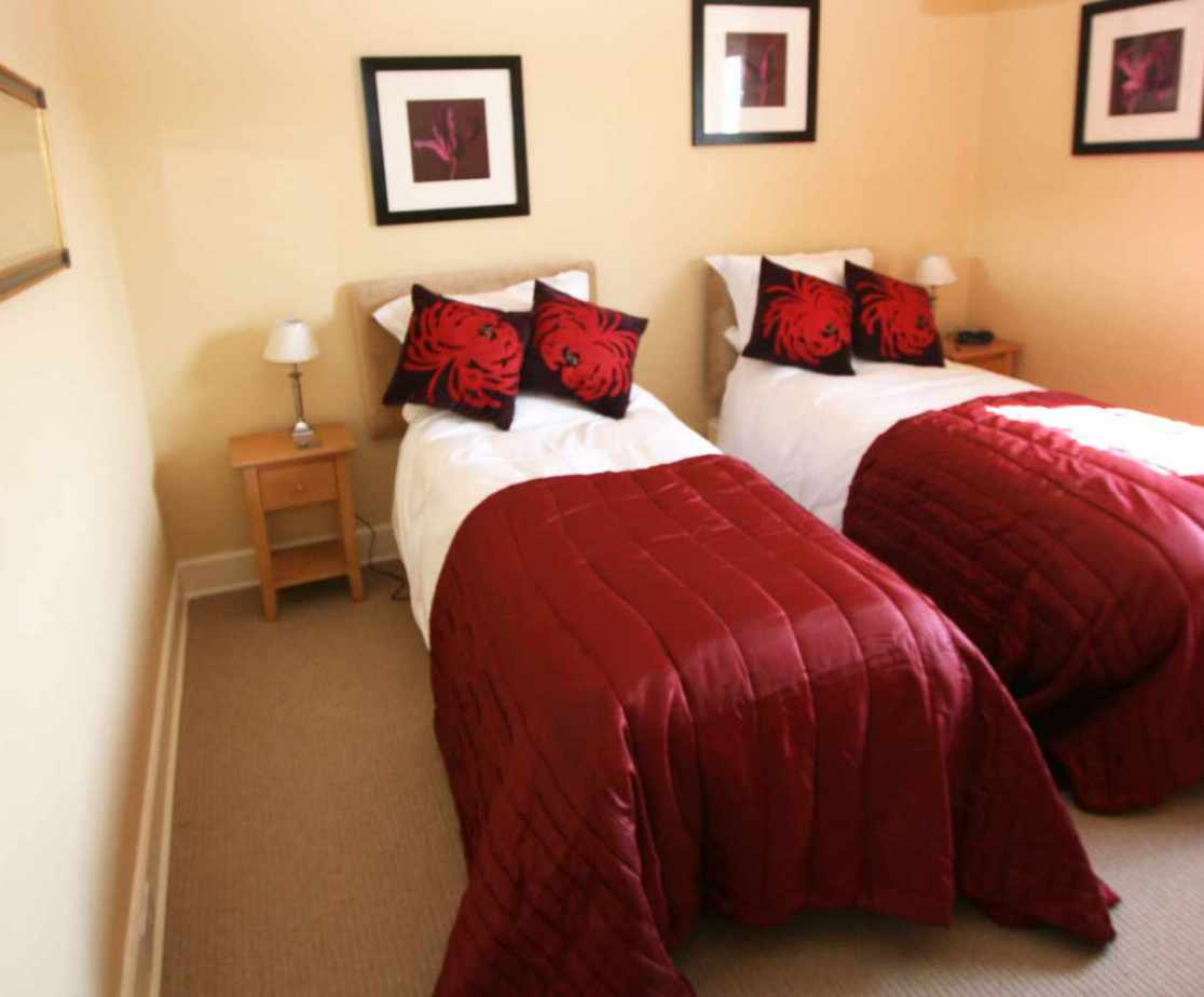 The bedrooms are all modern and comfortable