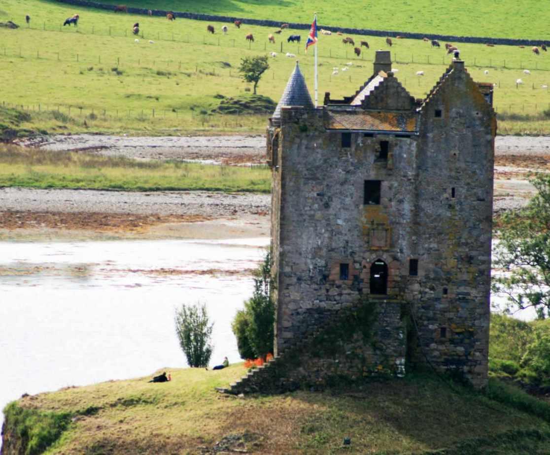 Castle Stalker is a local landmark