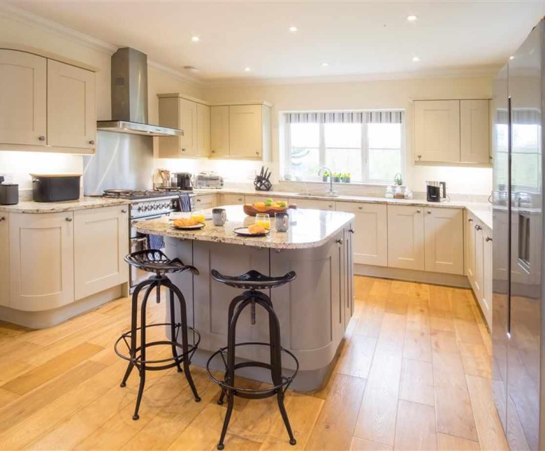 Teal House, Walberswick kitchen