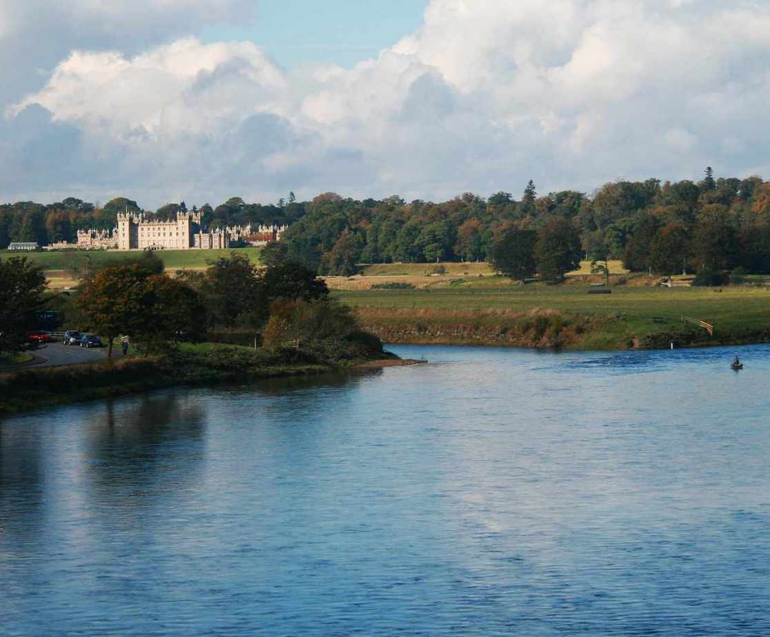 Visit Floors Castle or fish on the Tweed