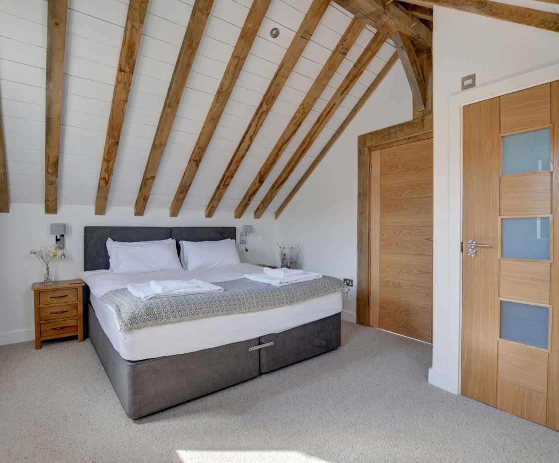 Bedroom 2 also has an ensuite bathroom