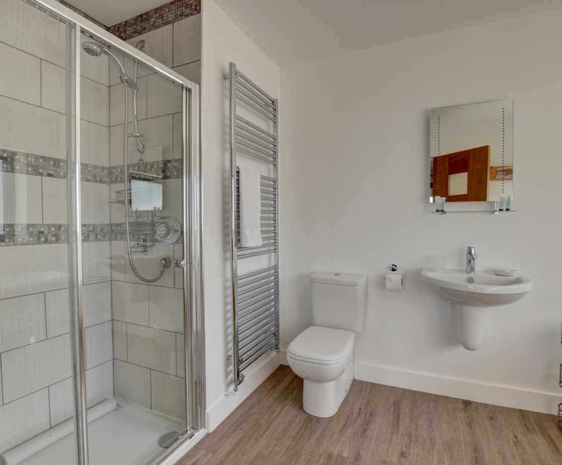 The ensuite bathroom of bedroom 4