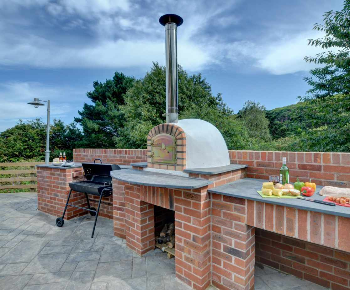 So much space to cook up a feast on the BBQ