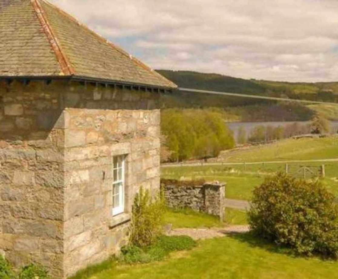 Commanding lovely views overlooking Loch Tummel