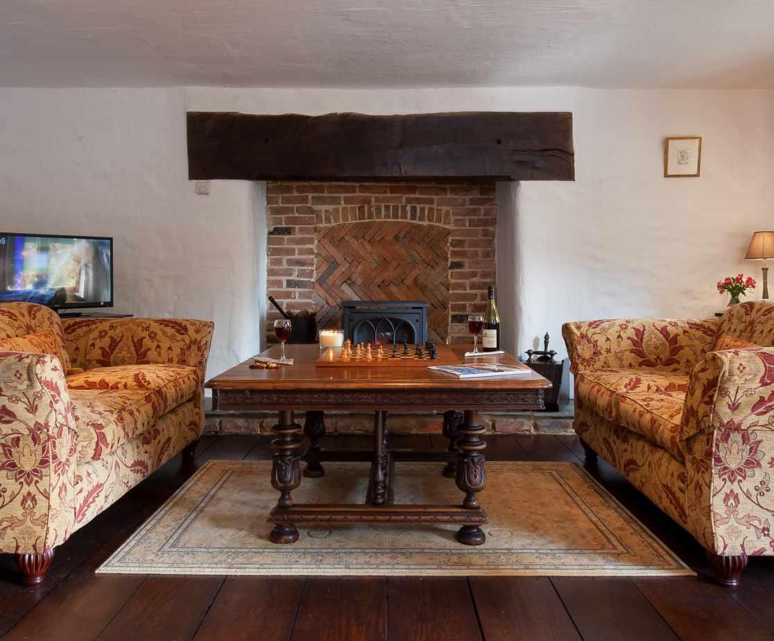Hutchinghayes Barn lounge