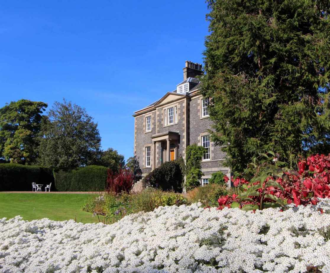 The house has a private garden to the rear or the use of the main gardens which are open to the public