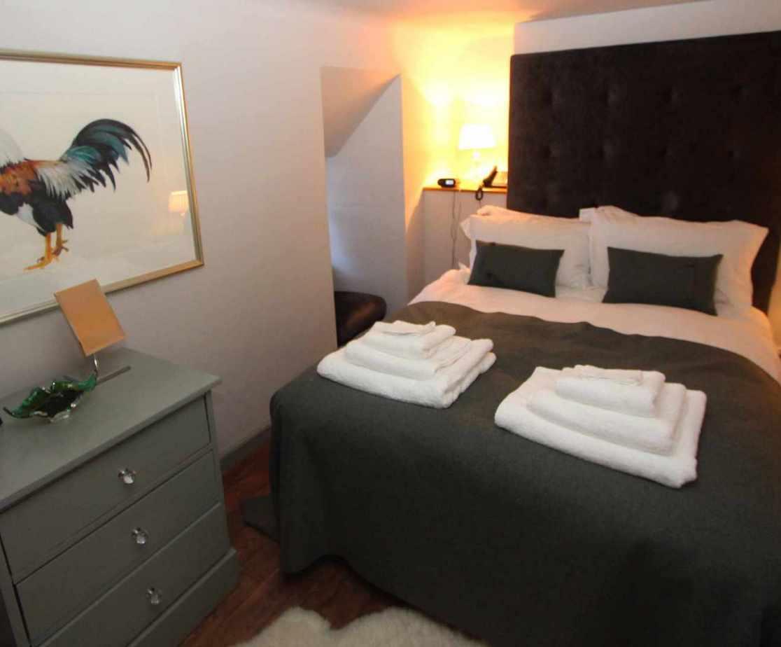 \'Sir Walter Scott\' bedroom located on the third floor