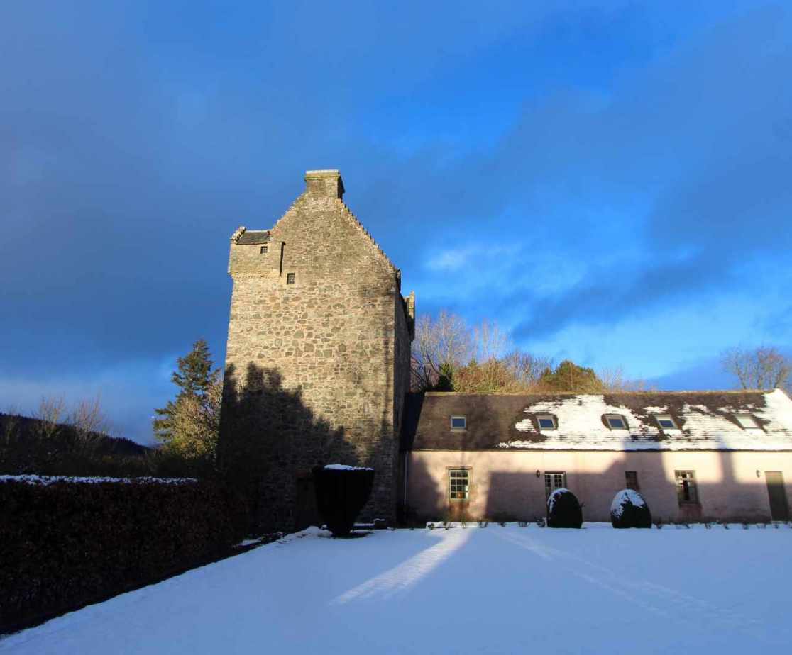 Scottish castle for self catered holidays in the Borders near Selkirk