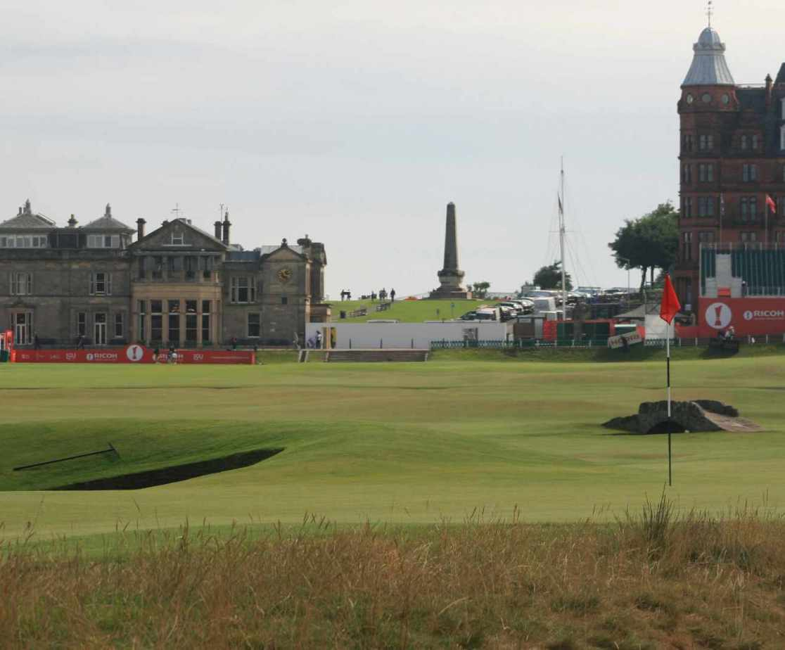 The Old Course is only a few miles away