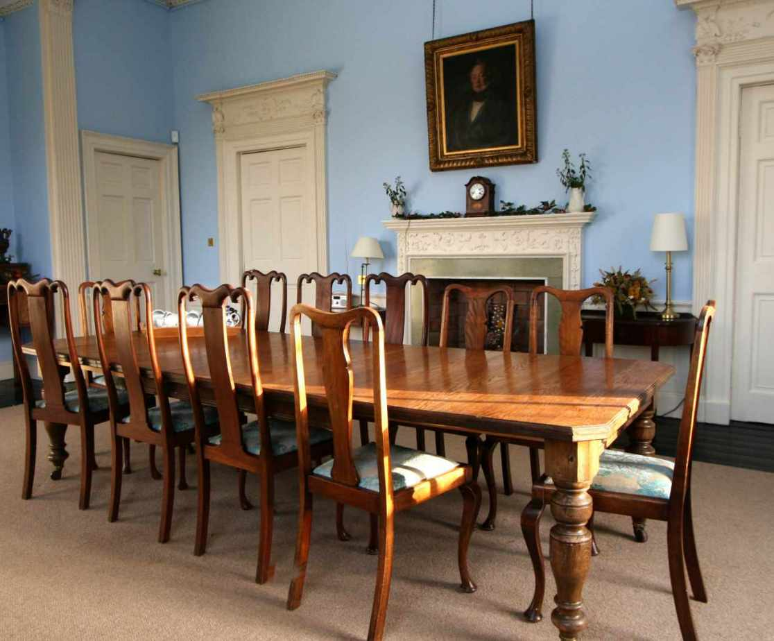Host your celebration in this beautiful Georgian dining room
