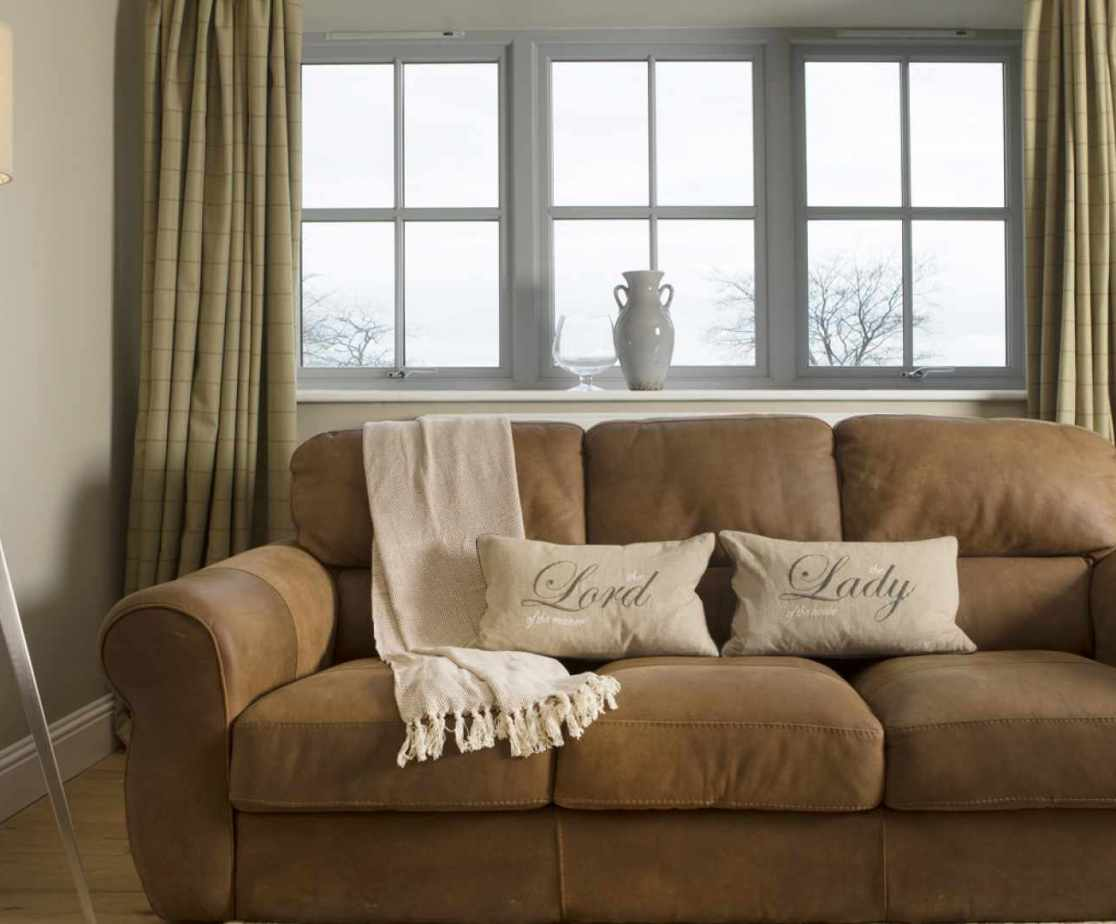Luxury Perthshire Farmhouse, sitting room