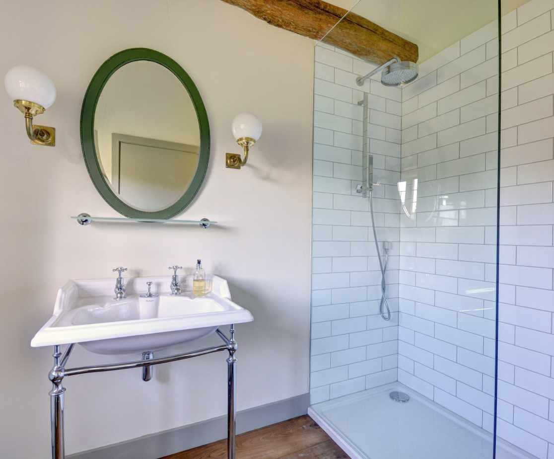 Bathroom in the Garden Rooms
