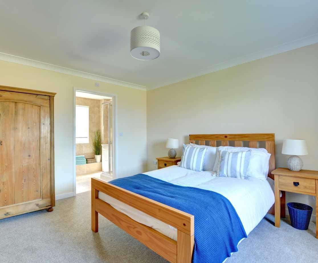 Ground floor Master double bedroom with ensuite shower room