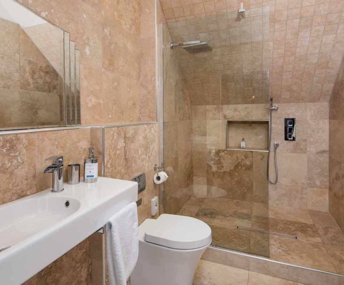 Super modern en-suite bathroom