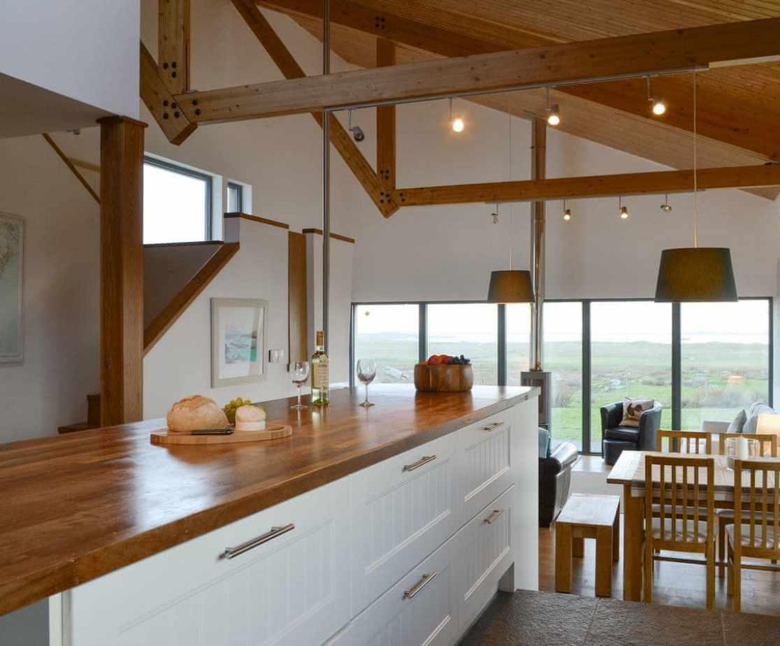 Useful 'Island' within kitchen