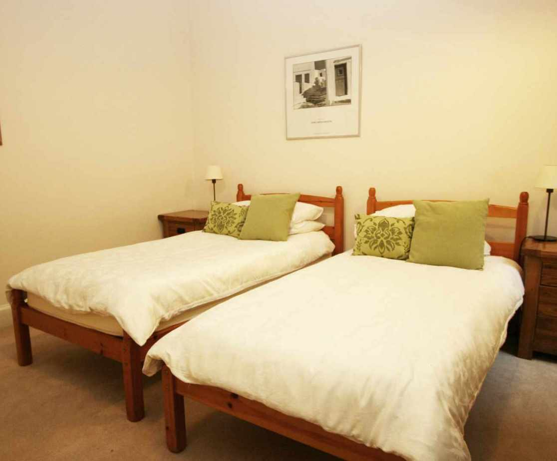 Room 3 is the twin-bedded room