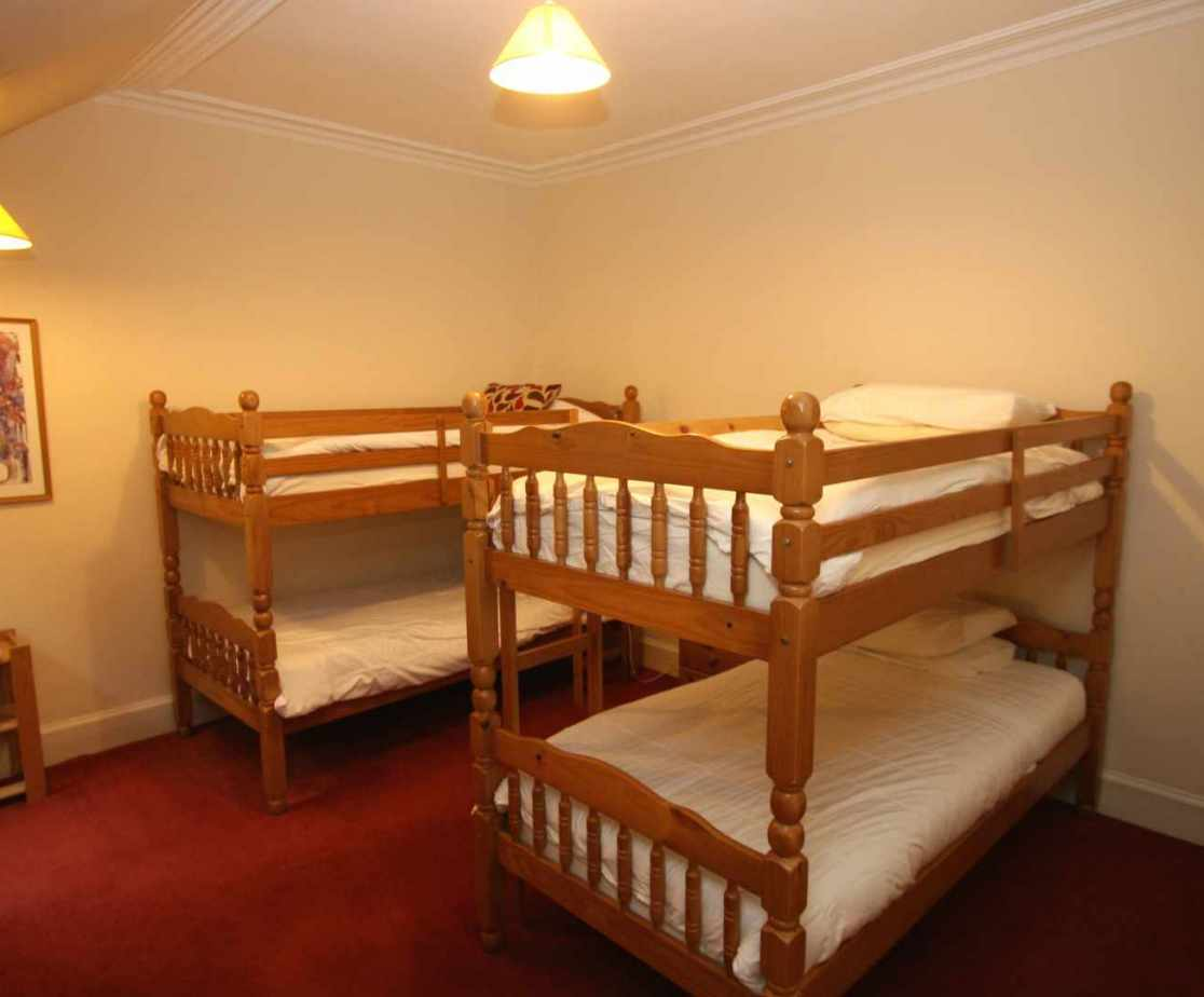 Room 4 is the large bunk room