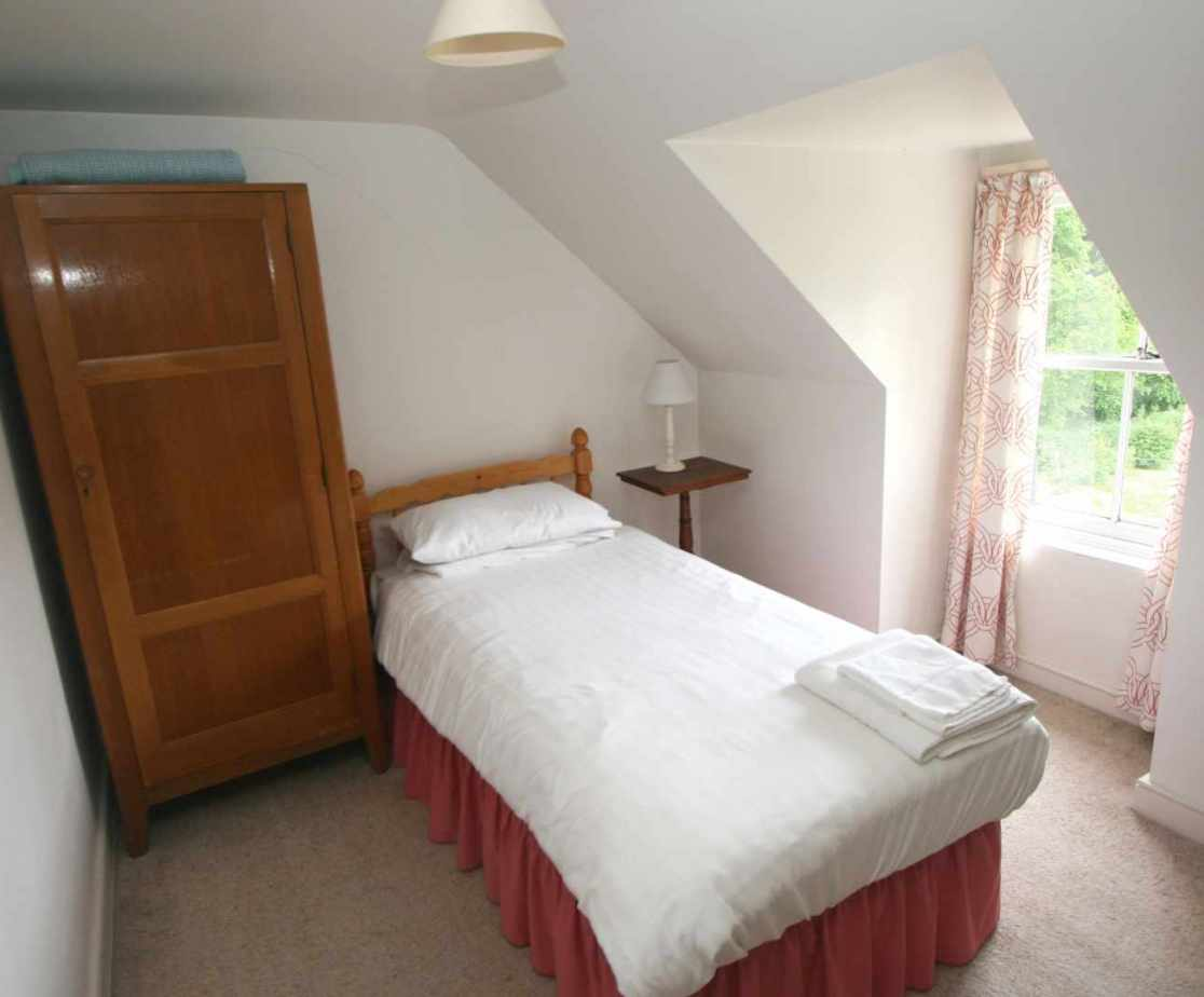 Room 7 is a single bedroom on the second floor