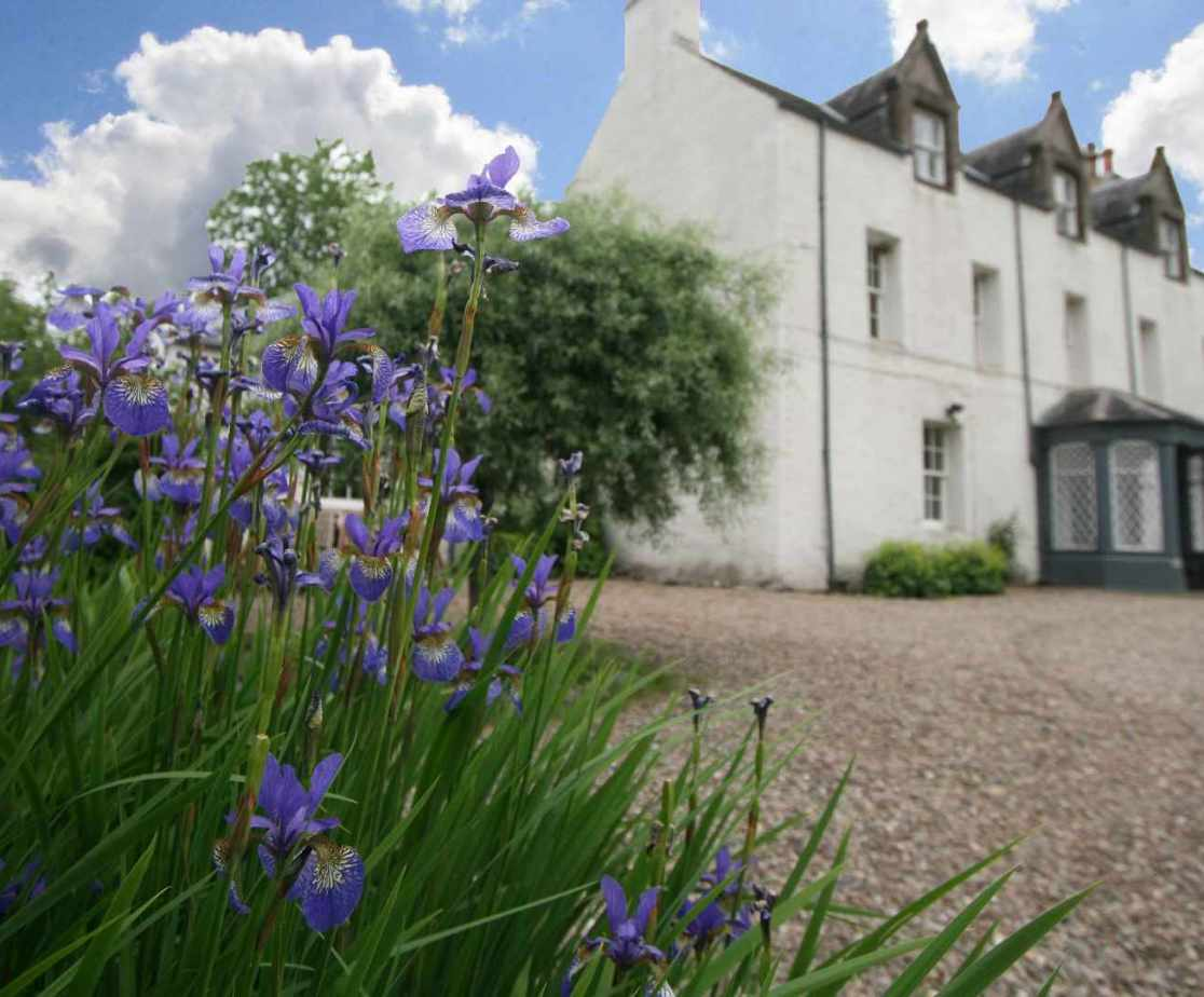 The setting above Blair Castle is a delight