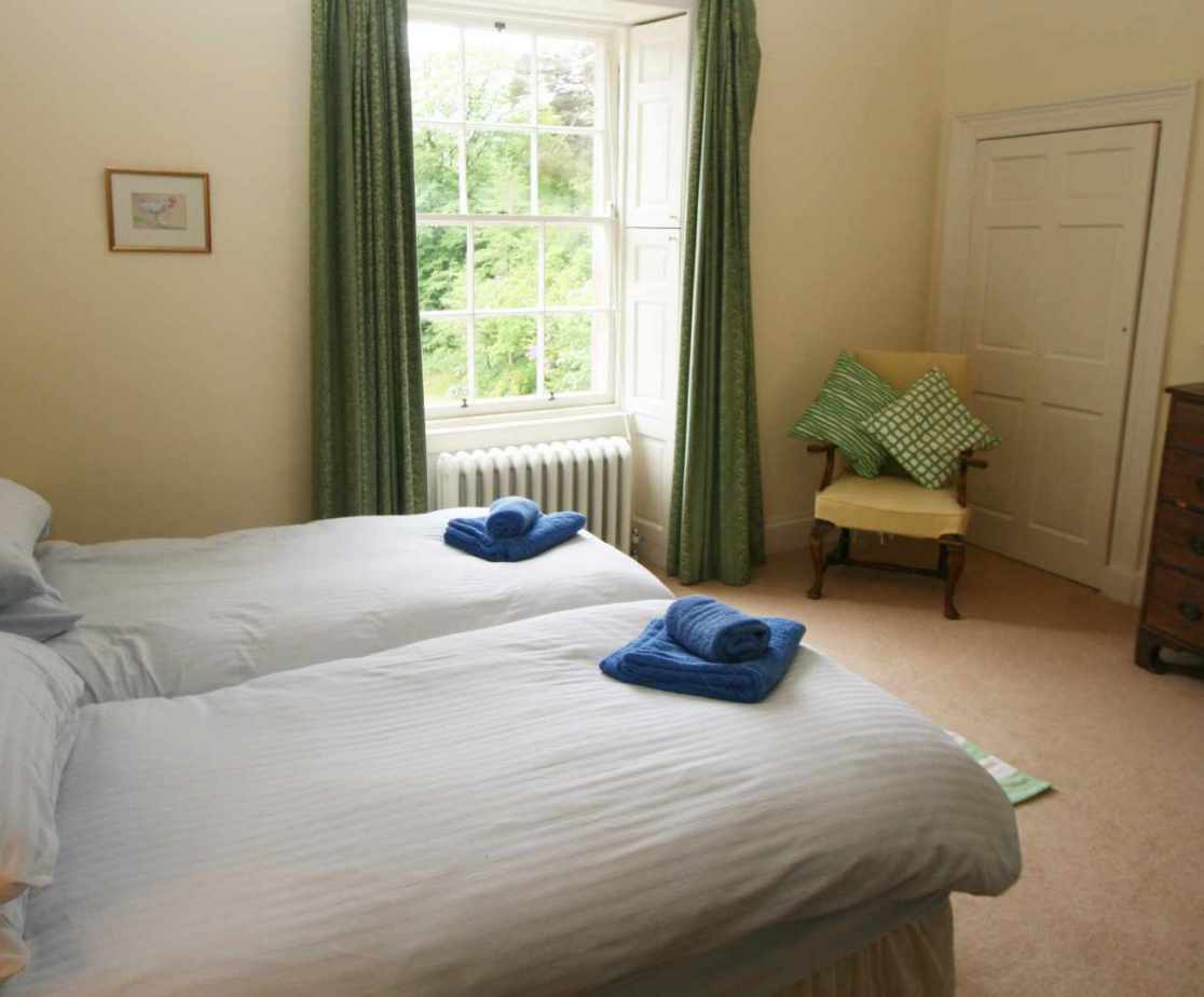 Room 2 is a spacious bedroom on the first floor