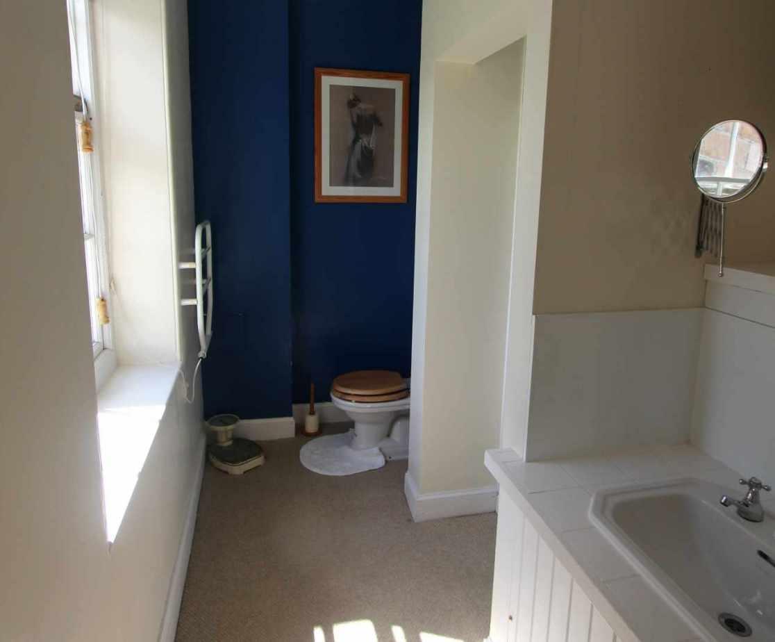 En suite shower-room for \'Sewing\' room