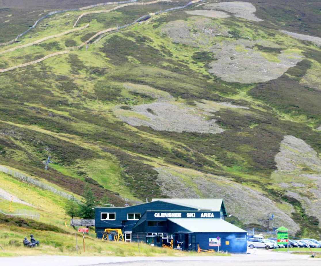 Glenshee is nearby for any outdoor enthusiasts