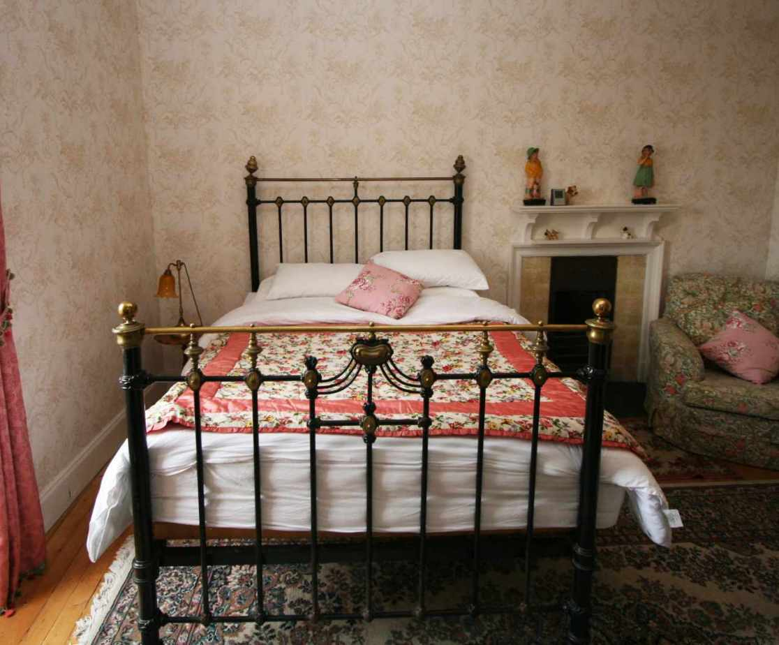 \'French\' is a second floor bedroom with a \'Bedknobs and Broomsticks\' bed
