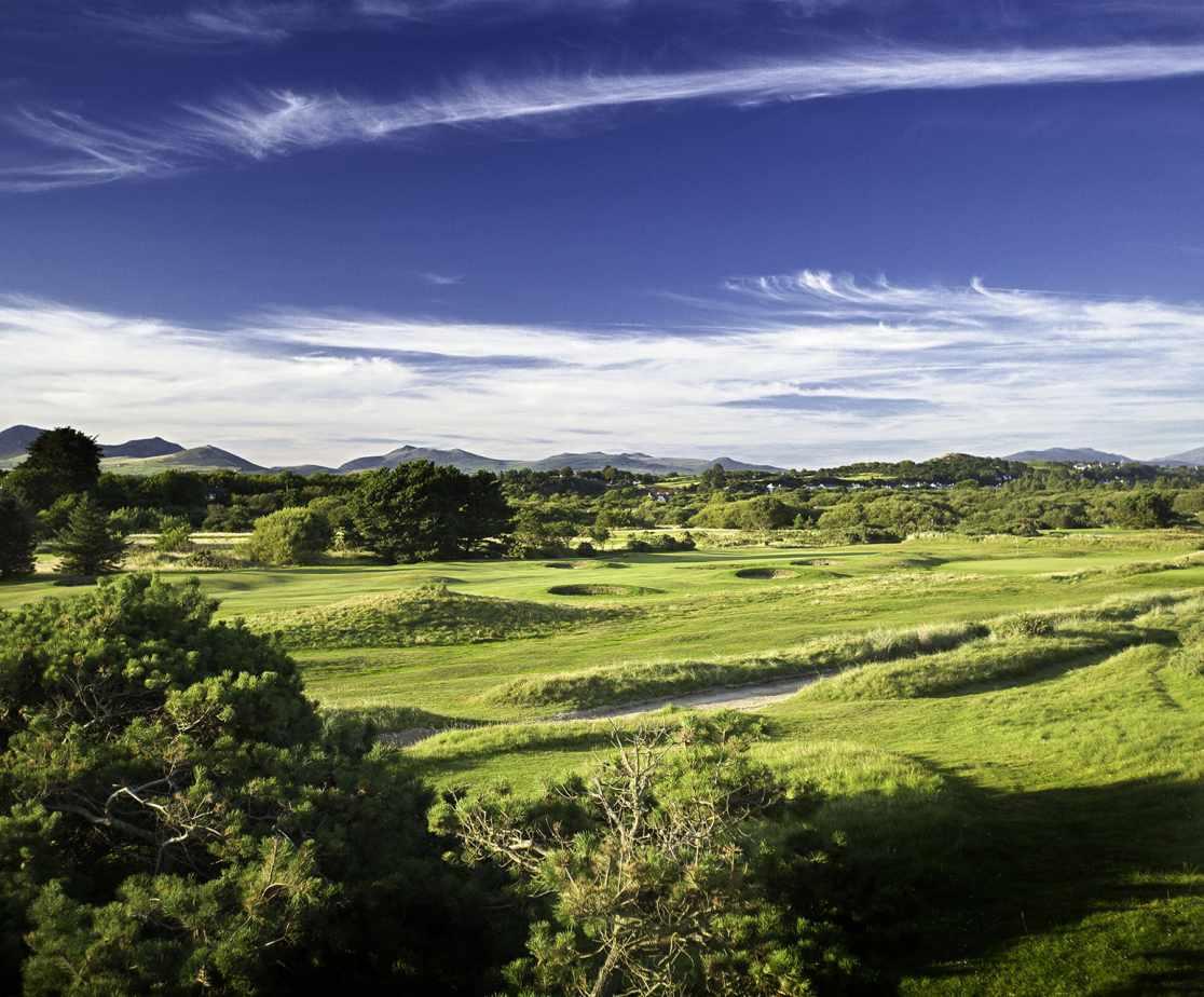 Enjoy a round of golf at Pwllheli Golf Club