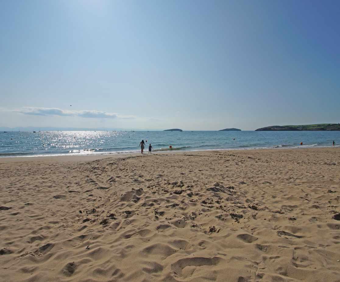 Abersoch Beach is another popular beach on the Llyn Peninsula