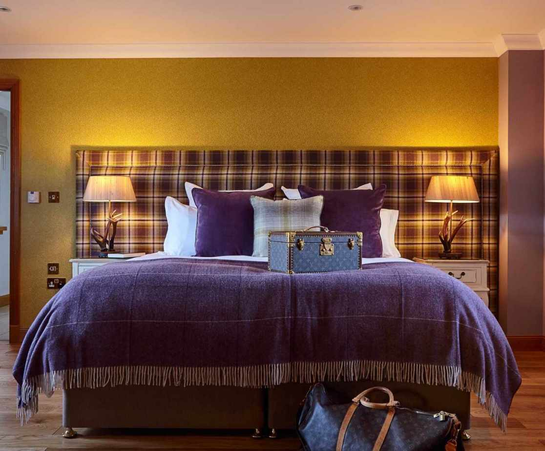 Room 1 is a double bedroom on the ground floor, with zip - link beds.